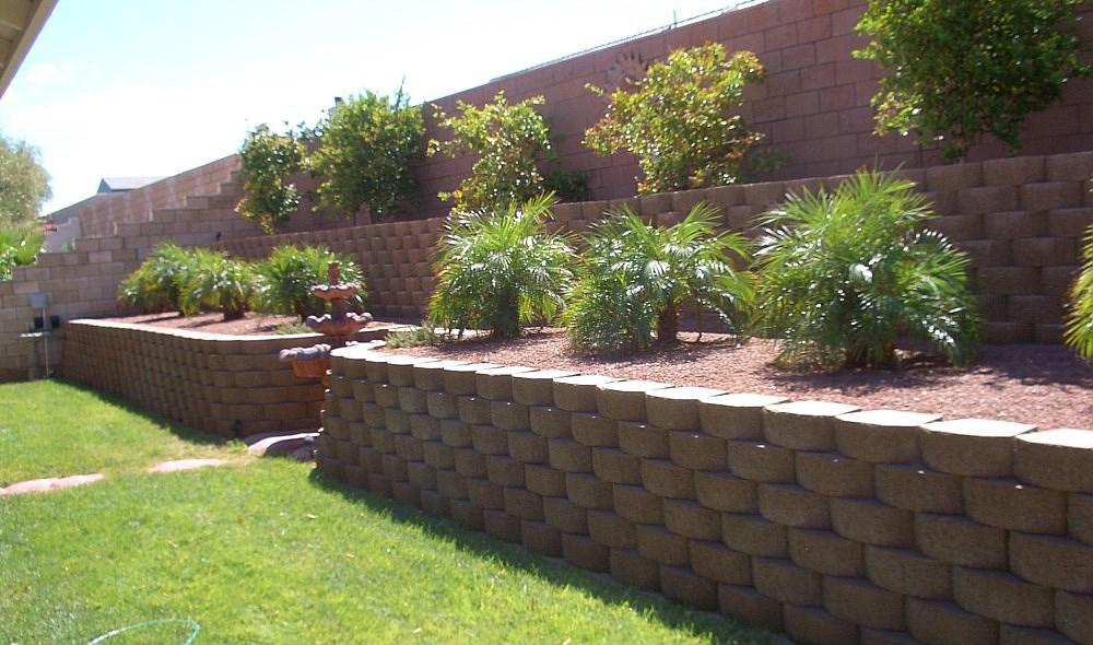 Block Retaining Walls Summerlin Las Vegas Nv
