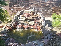 Fountains, Waterfeatures, Ponds & Waterfalls